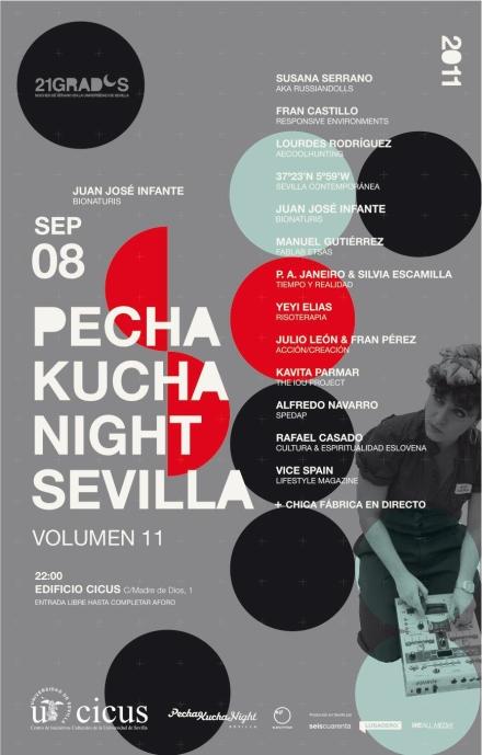 Pechakucha Sevilla Vol 11 Lourdes rodríguez
